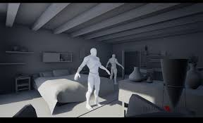 ue4 wip the catiline conspiracy an unreal cinematic series the study and villa hallway scene the first scene in the episode