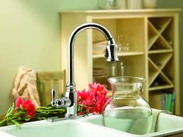 kitchen kohler k 3609 satin finish kitchen taps moen kitchen