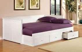 White Trundle Daybed Daybeds Sourceimage Trundle Daybed Dhp Furniture