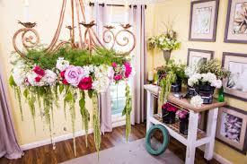 interior design with flowers flower chandelier szahomen com