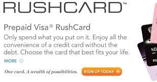 prepaid debit cards with direct deposit the best us bank account rushcard prepaid visa debit cards