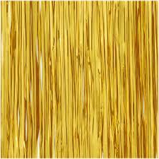 tinsel garland gold 18 inch icicle tinsel garland novelty bead tinsel