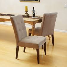 dining room popular highland cream fabric dining chair solid wood popular highland cream fabric dining chair solid wood frame softy padded in velvet fully cushioned seat espresso stained legs sturdy hardwood construction