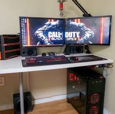 Gaming Pc Desk by Pin By Dominick Guida On Gaming Pc Pinterest Gaming Setup Pc