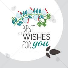 best wishes for you greeting vector image 1811294 stockunlimited