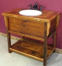 Reclaimed Wood Vanity Table Reclaimed Wood Vanity Bathroomvanities Vanity Vintage Reclaimed
