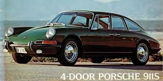 porsche 911 4 door the strange and wonderful tale of the 4 door porsche 911