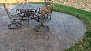 Stamped Concrete Patio Prices by Flooring U0026 Rugs Best Stamped Concrete Patio For Your Home