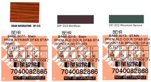 randsco paint colors