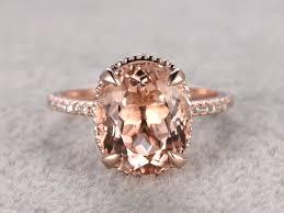 morganite gold engagement ring 3 carat morganite engagement ring morganite engagement ring bbbgem