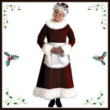 mrs claus costumes and accessories deluxe theatrical