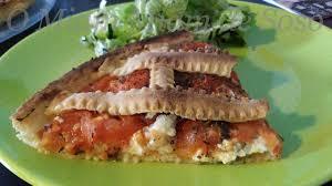 recettes hervé cuisine tarte a la tomate et fourme d ambert ô miam miam de soso