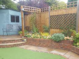 Curved Garden Wall by Gallery Landscape Gardening In Eastbourne Landscapers At Bright