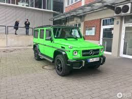 mercedes g wagon green mercedes benz g 63 amg crazy color edition 28 january 2017