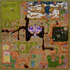 Twilight Princess Map Collectibles Map Zeldaspeedruns
