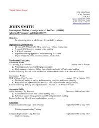Resume Executive Summary Examples Jospar by Welding Resume Examples Jospar Welding Resume Examples Best