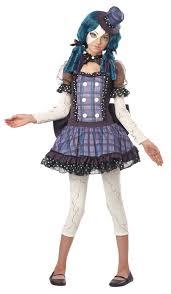 Tween Halloween Costumes Girls Kids Broken Doll Girls Tween Costume 31 99 Costume Land