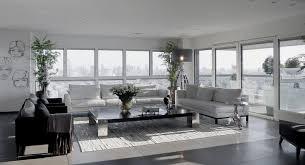 Modern White And Gray Apartment Interior Design By Lanciano Design - Modern apartments interior design
