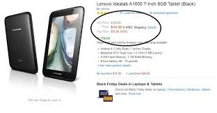 tablet black friday deals amazon black friday 2013 deal lenovo ideatab a1000 7 inch tablet
