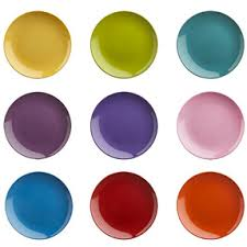 horderve plates colorful appetizer plates it lovely