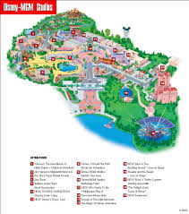 Florida Orlando Map by Disney Mgm Studios Map The Most Magical Place On Earth
