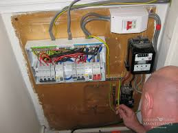 changing a consumer unit photos