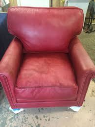 Leather Sofa Color Restoration by Leather Furniture Repair Before U0026 After Photos Leather Pros