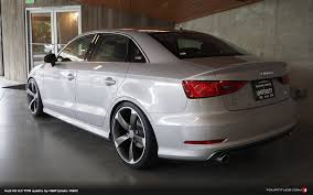 audi a7 modified a3 sedan by h u0026r hartman wheels and university audi