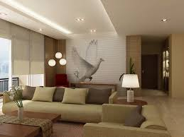 interior minimalist decoration for home family room using cream