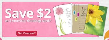 new 2 3 american greetings cards cvs store coupon only 49 for