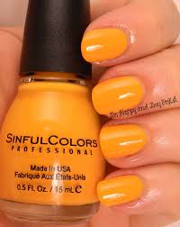 sinful colors summer creme nail polishes 2014 be happy and buy
