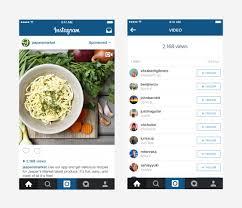 instagram cuisine instagram เตร ยมเพ มจำนวนยอดการชมเป นรายละเอ ยดใต ว ด โอโฆษณา