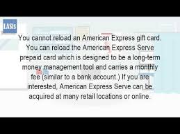 reload prepaid card online can you reload a american express gift card