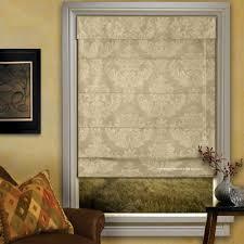 Cordless Roman Shades With Blackout Lining Fabric Roman Shade Ebay