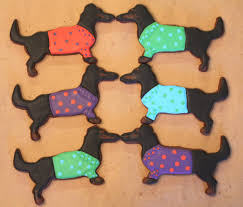 dachshund cookies doxie fun pinterest dachshunds dog and