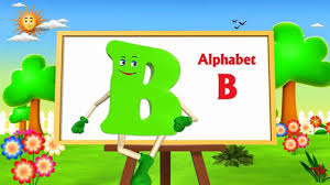 letter b song 3d animation learning english alphabet abc songs