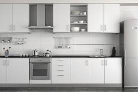 Metal Kitchen Cabinets White Cabinetsbrown High Gloss Wood - White metal kitchen cabinets