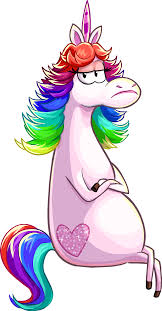rainbow unicorn club penguin wiki fandom powered by wikia