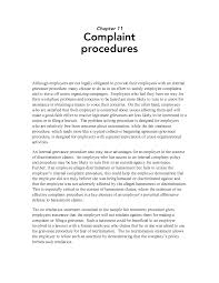 ideas of sample complaint letter to human resources about manager