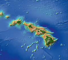 Map Of Hawaii Island Main Hawaiian Islands Multibeam Bathymetry Synthesis