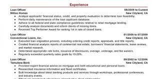 Mortgage Resume Mortgage Loan Officer Job Description Mortgage Loan Officer Resume