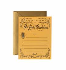 new year new address cards resolution constitution greeting card by rifle paper co made in usa