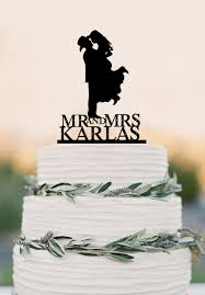 cowboy cake toppers country western wedding cake topper silhouette cowboy with hat