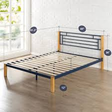 Solid Wood King Headboard by Bed Frames King Platform Bed With Headboard Solid Wood King
