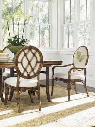 rattan dining chairs look other metro tropical dining room