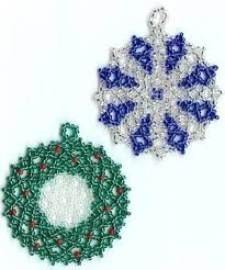 beaded ornaments free patterns rainforest islands ferry