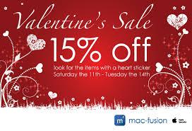 valentines sale s day sale mac fusion