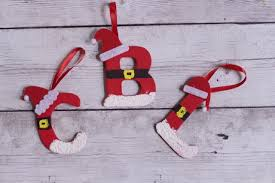 how to make santa letter diy ornaments easy tutorial