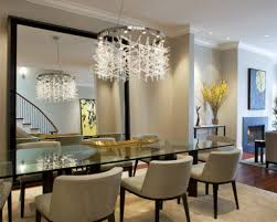 contemporary crystal dining room chandeliers home design