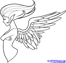 tattoo angel simple 11 how to draw an angel tattoo
